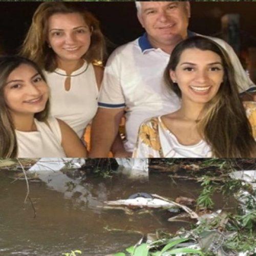 Empresário, mulher e filhas são as vítimas de queda de avião no Paraná