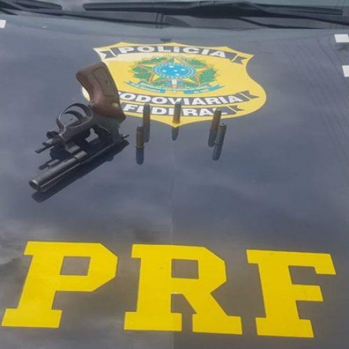 PRF prende idoso pelo crime de porte ilegal de arma em Picos
