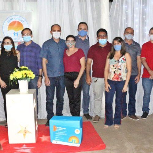 Massapê do Piauí comemora conquista do Selo Unicef; veja fotos