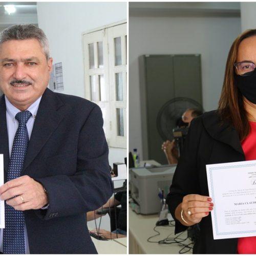 SIMÕES   Zé Ulisses e Claudeir Feitosa são diplomados pela Justiça Eleitoral; posse será dia 1º de janeiro