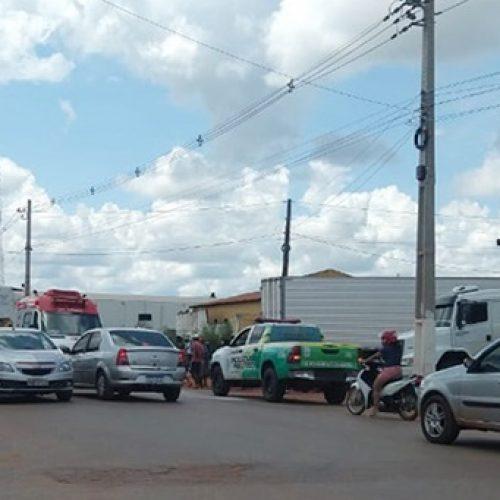 Idosa é atropelada e condutor do veículo foge sem prestar socorro em município do Piauí
