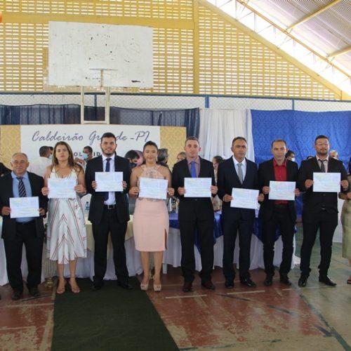 Veja fotos da Missa em Ação de Graças e sessão de posse dos eleitos em Caldeirão Grande do Piauí