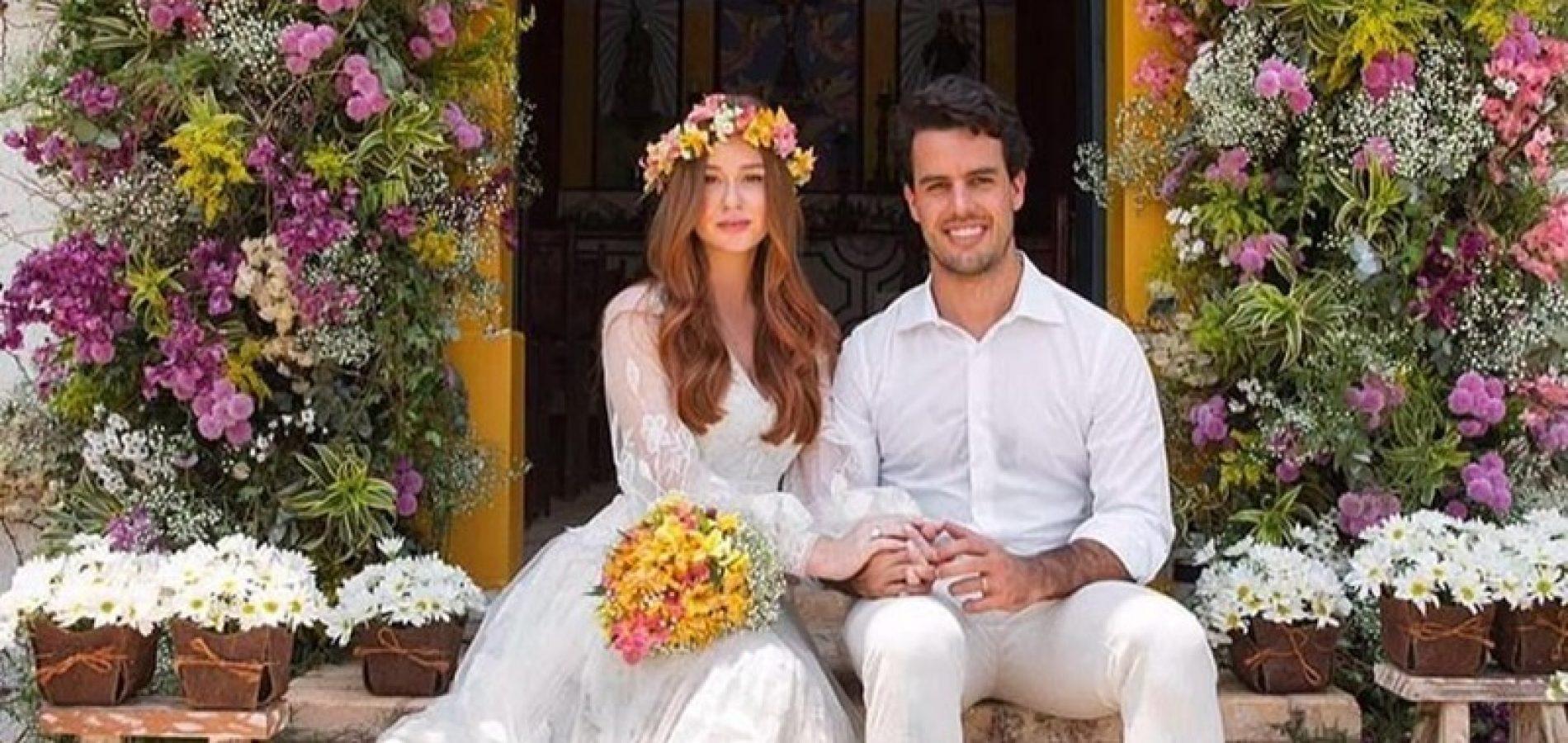 Marina Ruy Barbosa e  Alexandre Negrão terminam casamento de três anos