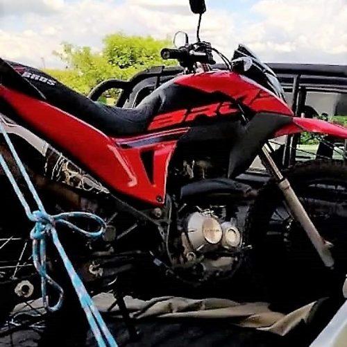 Polícia Militar de Francisco Macedo recupera moto que havia sido roubada no Ceará