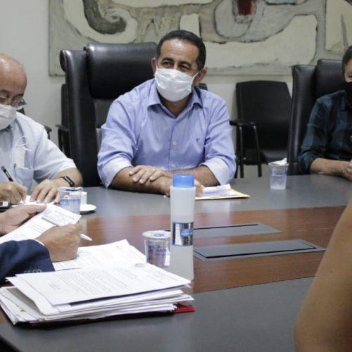 Novo prefeito de Fronteiras se reúne com o governador Wellington Dias e busca melhorias para o município