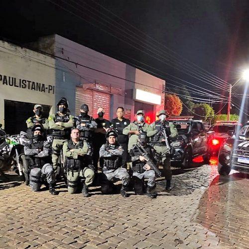 Polícia deflagra operação sossego, apreende motocicletas e menor com simulacro de arma de fogo em Paulistana