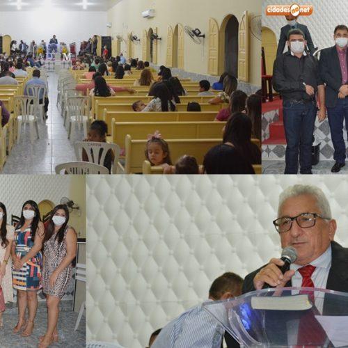 Culto em Ação de Graças abre a programação comemorativa aos 57 anos de Padre Marcos