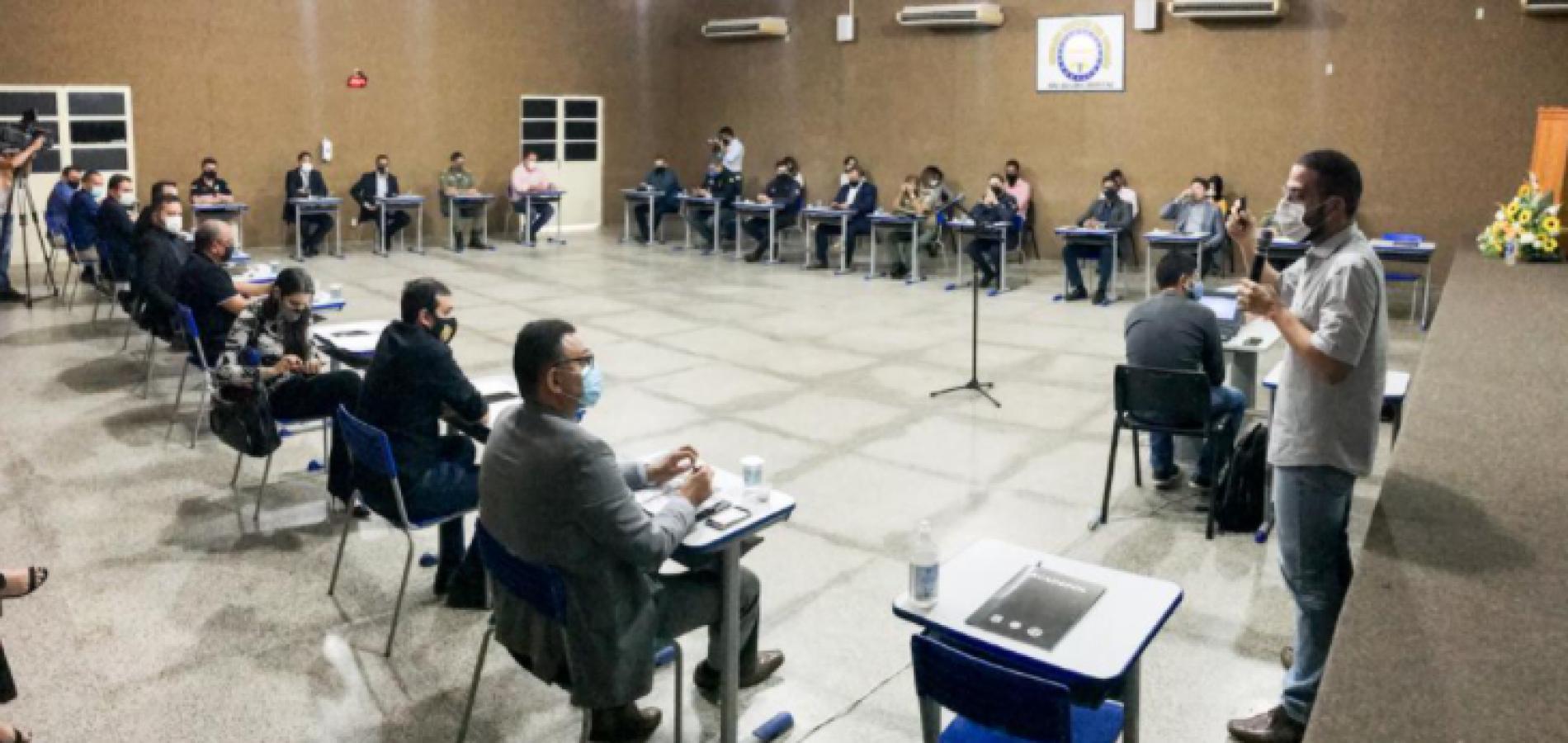 Segurança discute estratégias para combate ao crime organizado no Piauí