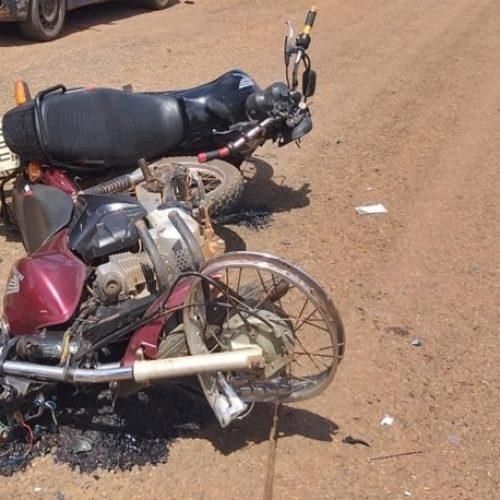 Colisão frontal entre motos deixa homem morto e outro ferido no Norte do Piauí