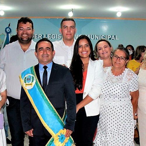 Eudes Ribeiro é empossado prefeito de Fronteiras pela 3ª vez; veja fotos