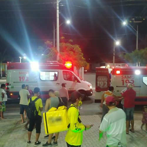 Botijão de Gás explode em pizzaria e deixa quatro feridos em cidade do Piauí