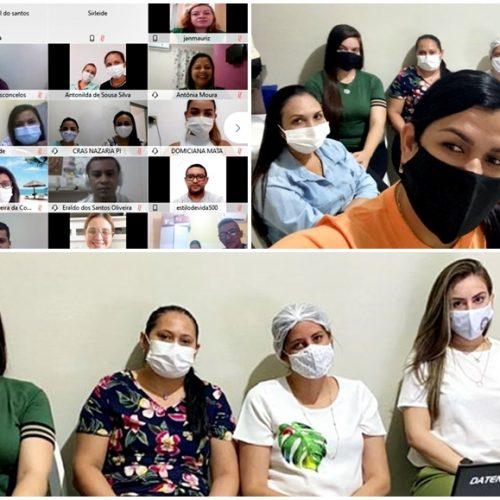 SASC realiza evento on-line e capacita assistentes sociais de São Julião