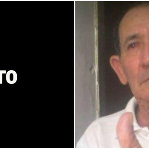 Falece aos 81 anos, o avô do vice – prefeito de Alagoinha; prefeito e primeira – dama emitem nota de pesar