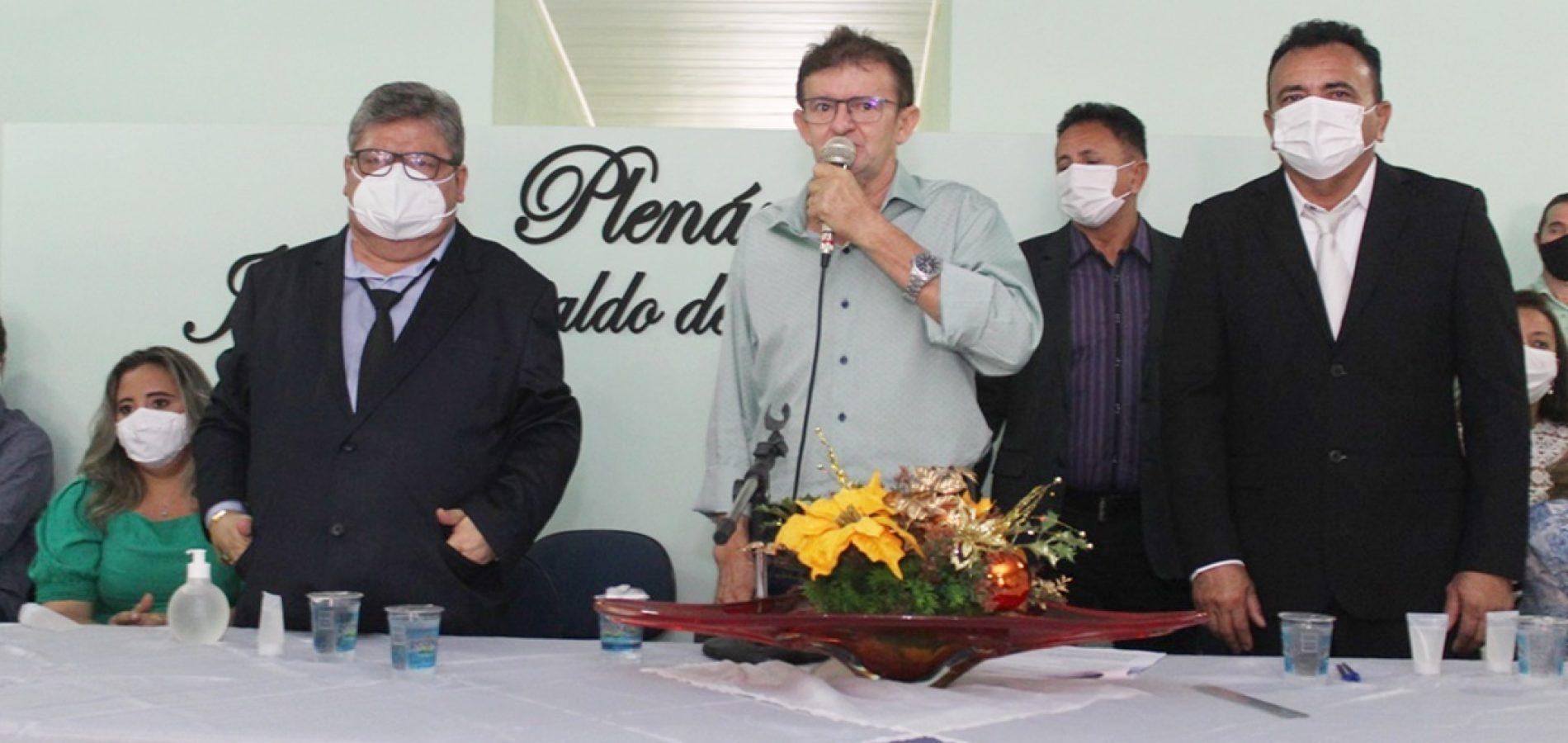 Dr. Tico e Dr. Elias são empossados prefeito e vice em Campo Grande do Piauí