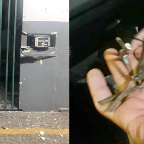 Criminosos explodem caixa eletrônico dentro de fábrica de bicicletas em Teresina
