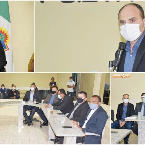 Câmara de Massapê do Piauí abre o ano legislativo; prefeito apresenta mensagem do Executivo