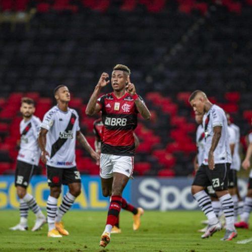 Fla bate Vasco, festeja empate do Inter e fica a quatro vitórias do título