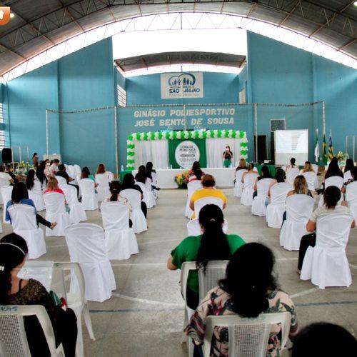SÃO JULIÃO | Jornada Pedagógica abre ano letivo e discute metodologias de ensino não presenciais; fotos