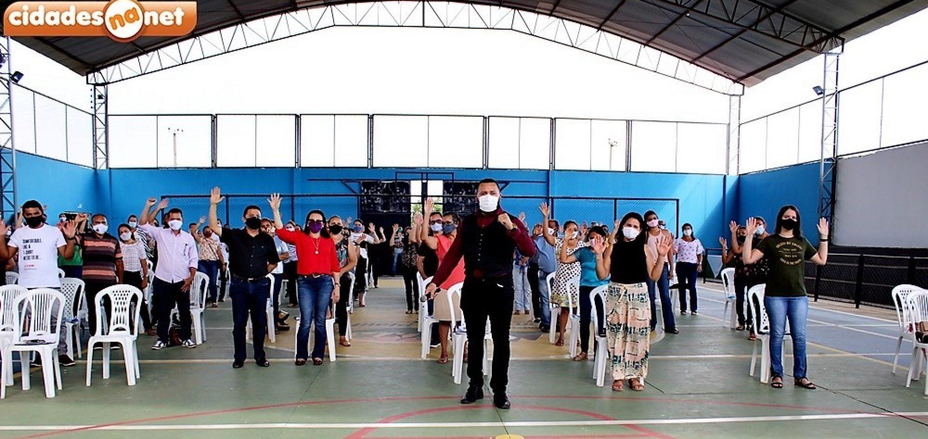 Trilha Pedagógica com palestra sobre saúde mental marca abertura do ano letivo em Santana do Piauí; fotos