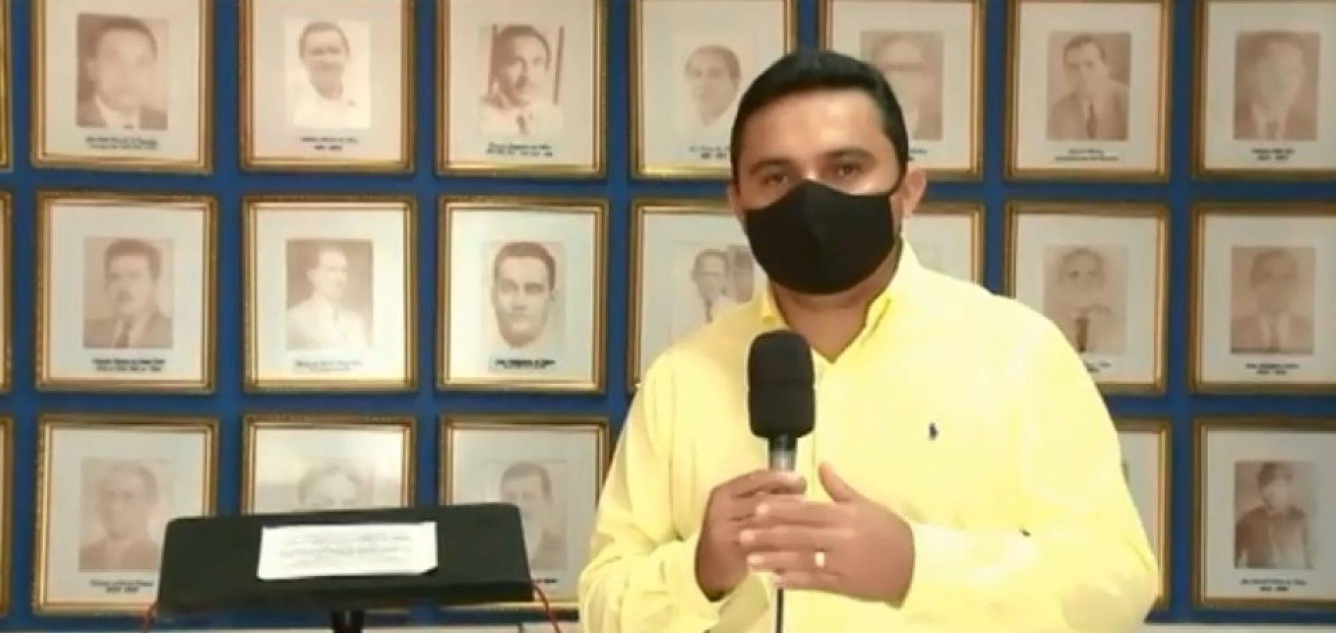 Secretário de Saúde de Floriano é internado com Covid-19 em hospital particular