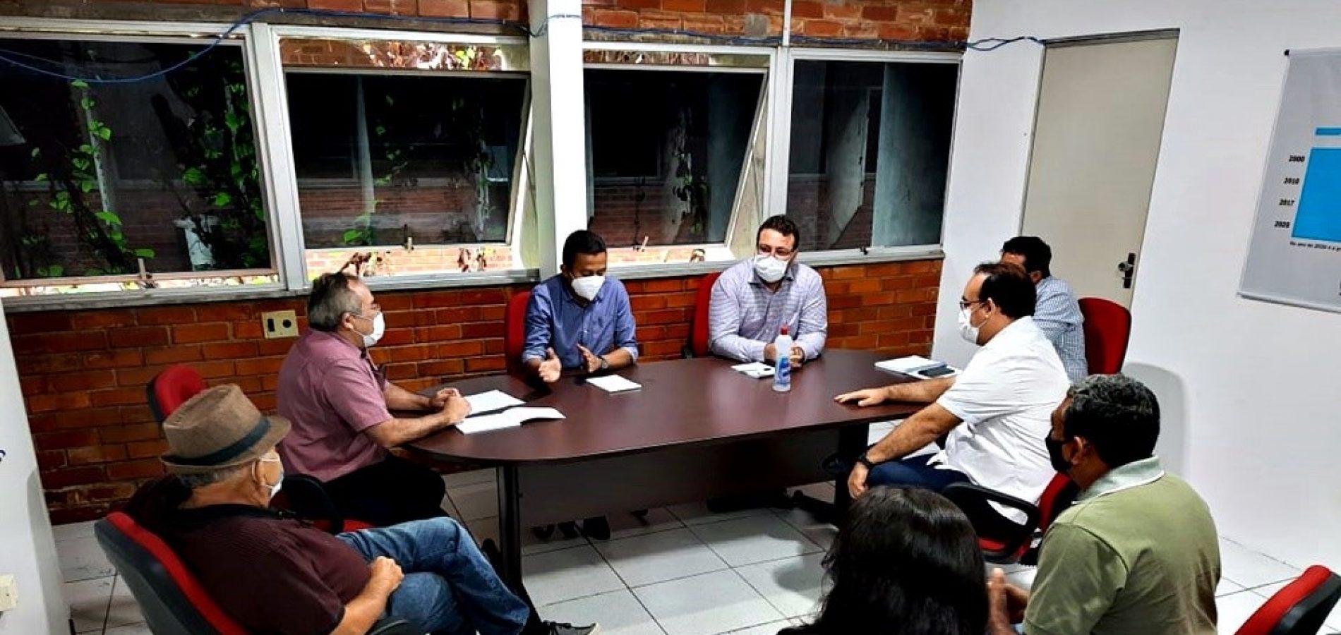 Em Teresina, prefeito Dr. Karlão solicita reativação da Emater para Santo Antônio de Lisboa