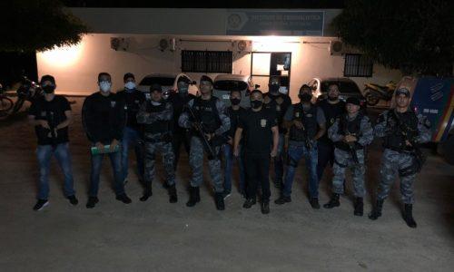 Policiais do 4º BPM de Picos prendem quatro foragidos da justiça durante ação conjunta