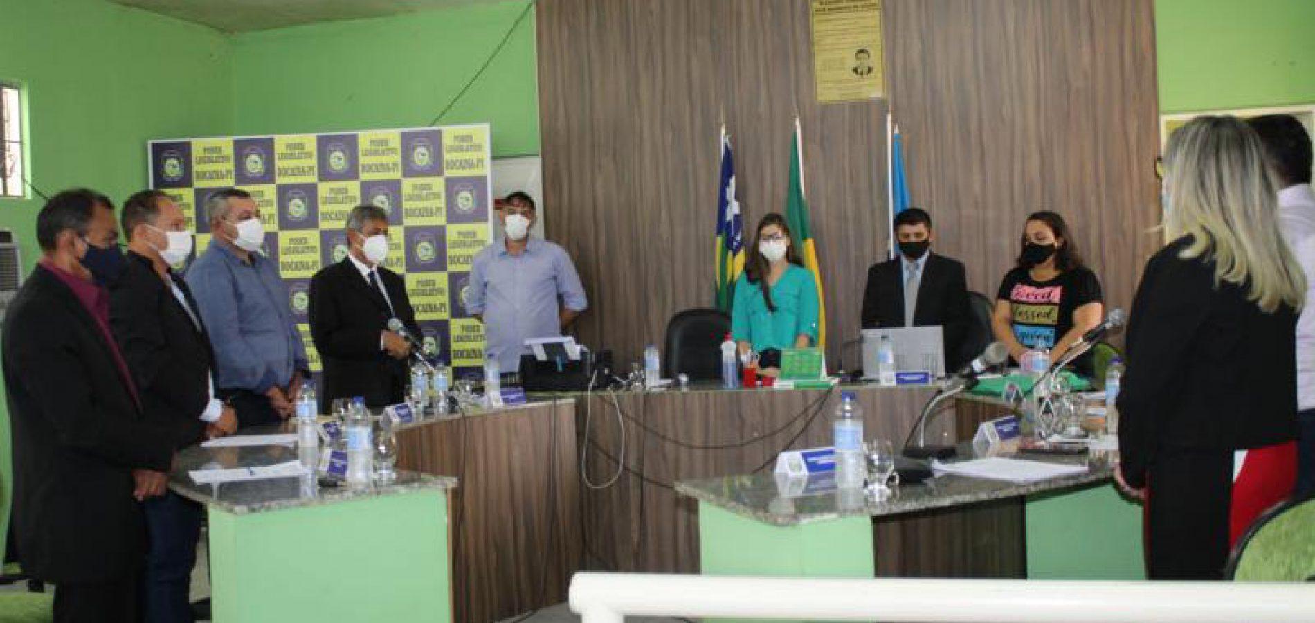 Câmara Municipal de Bocaina abre ano legislativo 2021 com leitura da mensagem do prefeito Erivelto Barros