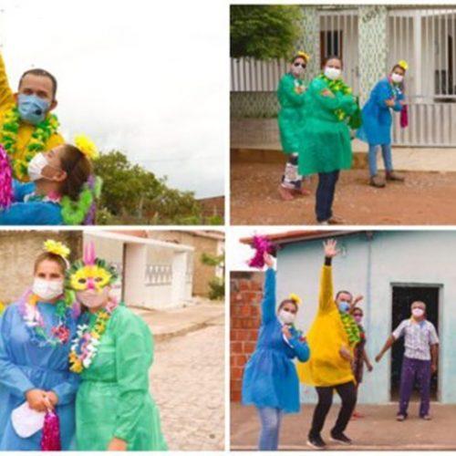 Assistência Social de Campo Grande do Piauí leva alegria e descontração para os idosos