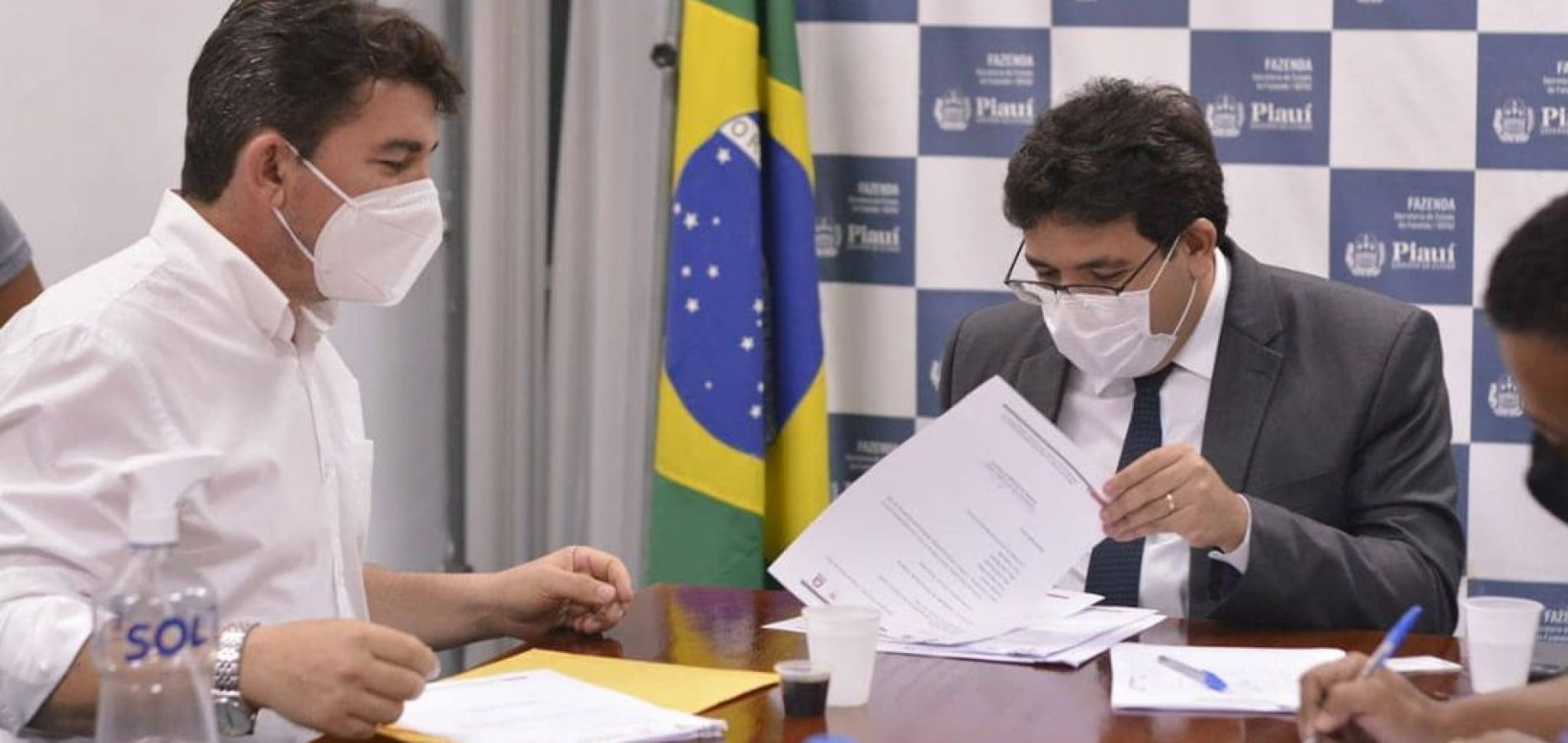 Em audiência com coordenador do Pro Piauí, prefeito Elvis Ramos apresenta demandas de Ipiranga do Piauí