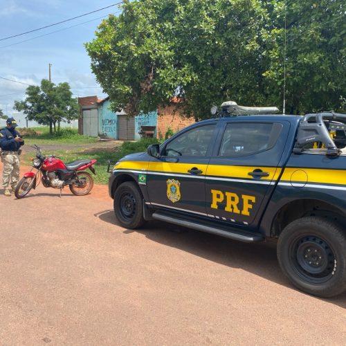 PRF apreende motocicleta adulterada e prende homem por adulteração de veículo na BR 316