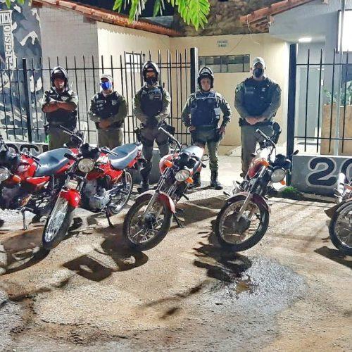 Em Paulistana, PM inicia operação 'Sossego' e motos barulhentas são apreendidas