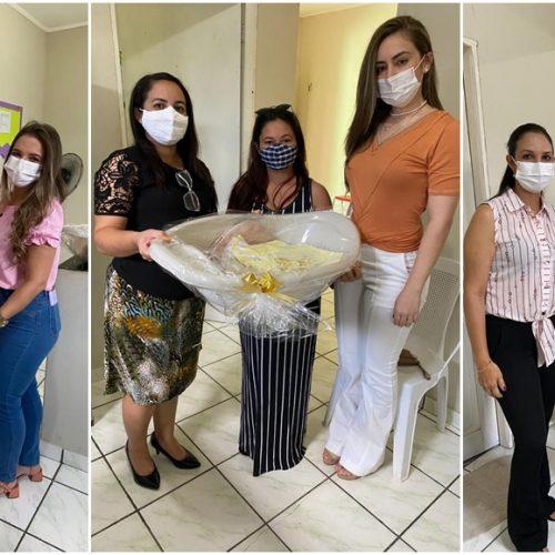 Assistência Social de São Julião faz entrega de kits de enxoval para gestantes