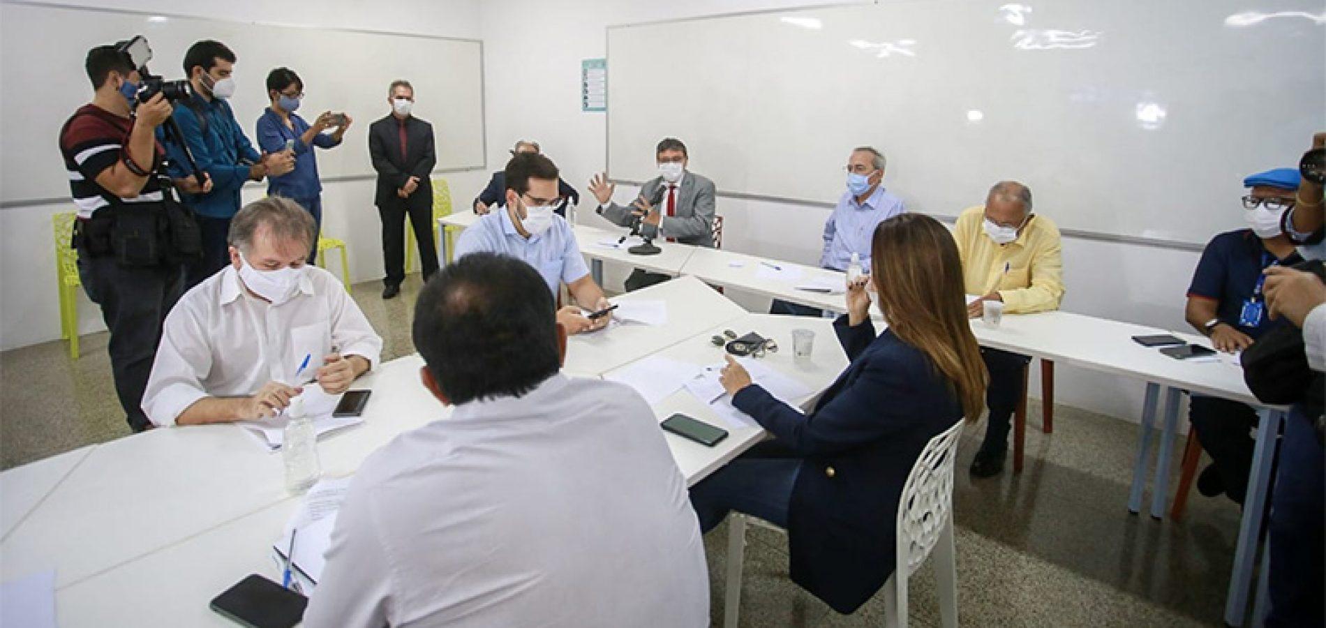 Em reunião com a bancada, Wellington Dias pede ajuda para Anvisa validar vacinas
