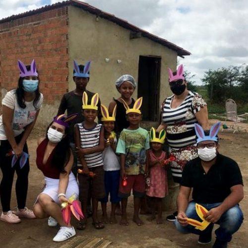 Prefeitura de Santo Antônio de Lisboa promove a Páscoa Itinerante para crianças do SCFV; fotos