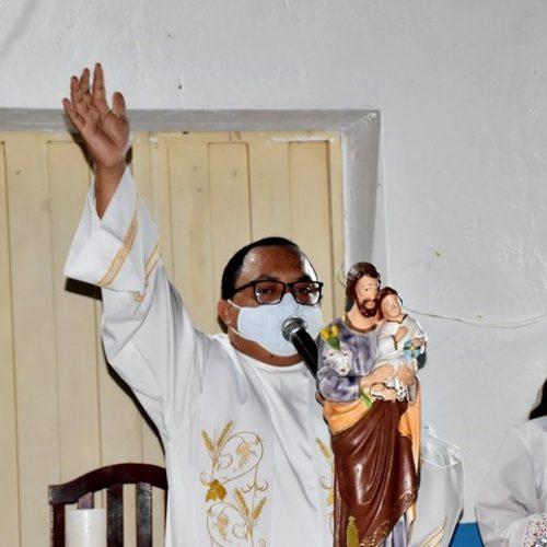 Missa encerra o 75º festejo de São José no povoado Retiro em Francisco Macedo; veja fotos