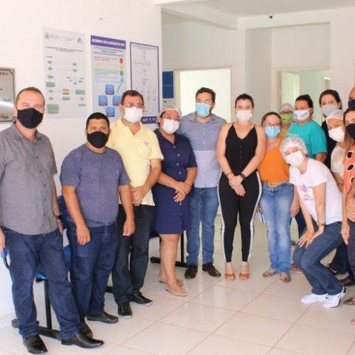 Secretário de Saúde de Picos e vereadores visitam Postos de Saúde do município