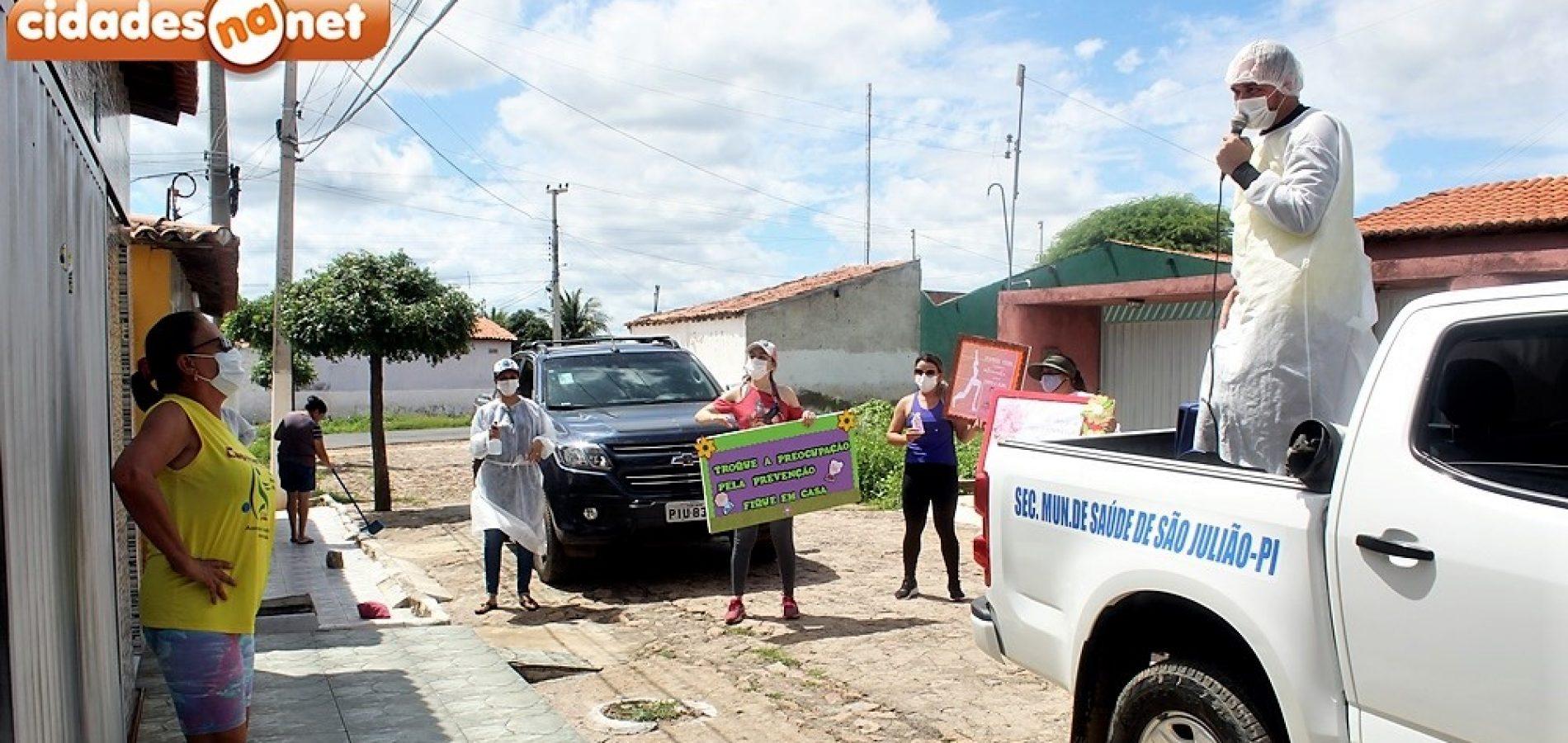 Em alusão ao Dia da Mulher, Assistência Social de São Julião homenageia mulheres do grupo de capoterapia; veja fotos