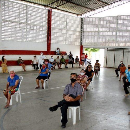 Em Vila Nova do Piauí, 318 doses foram aplicadas contra a Covid-19; veja fotos da campanha