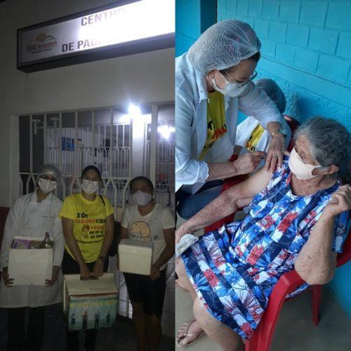 PADRE MARCOS | Rotina e desafios dos profissionais de saúde que aplicam doses de esperança