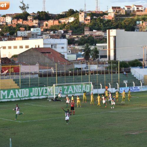 SEP sofre dois gols no fim e perde para o Fluminense-PI