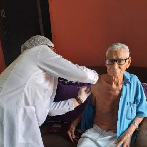 Santo Antônio de Lisboa está no painel dos maiores percentuais de aplicação da 1ª dose da vacina contra a Covid-19 no Piauí