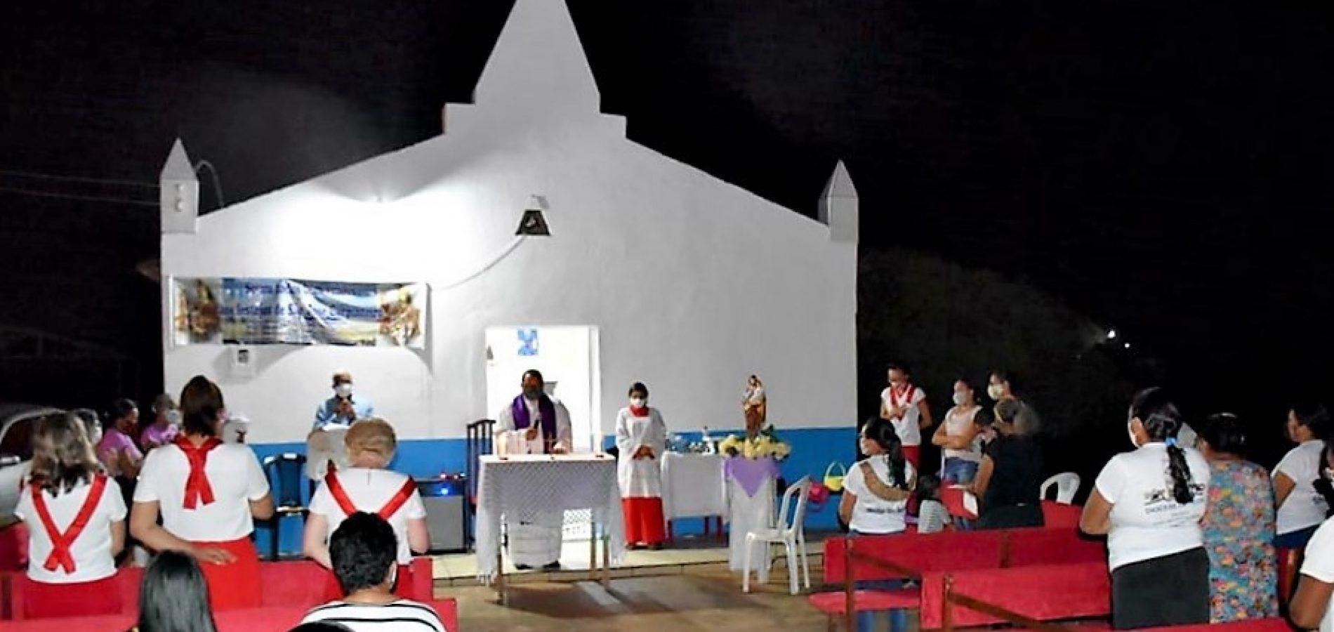 Comunidade Retiro celebra a 2ª noite de novena do 75º festejo de São José em Francisco Macedo; fotos