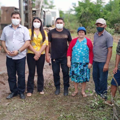 Prefeitura de Padre Marcos perfura poços e melhora qualidade de vida de famílias da zona rural