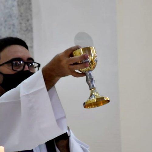 Igreja Católica e Assistência Social celebram o 1º encontro com idosos de Marcolândia em 2021; fotos