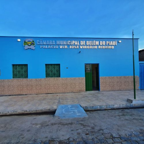Confira a pauta da sessão da Câmara de Belém do Piauí desta sexta-feira (07)