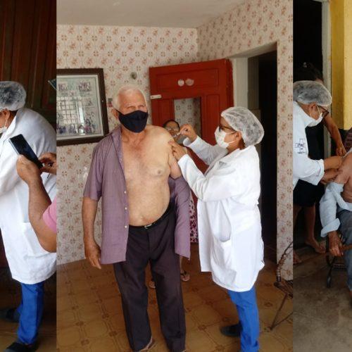Saúde de Jacobina do Piauí segue com a campanha de vacinação contra a Covid-19