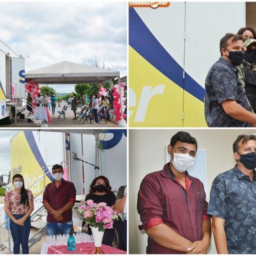 Carreta Sesc Saúde da Mulher oferta exames gratuitos de mamografia e citopalogia em Curral Novo do Piauí