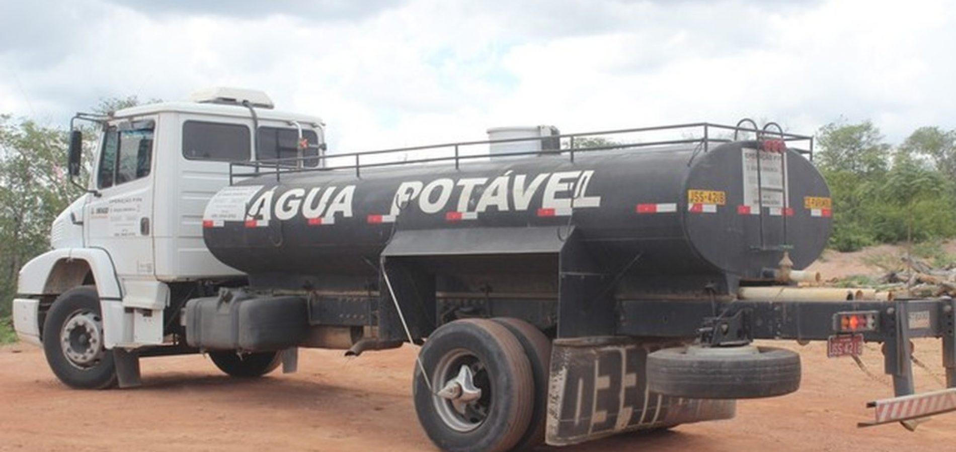 Vinte e sete cidades do Piauí ficam sem abastecimento após governo suspender Operação Carro-pipa