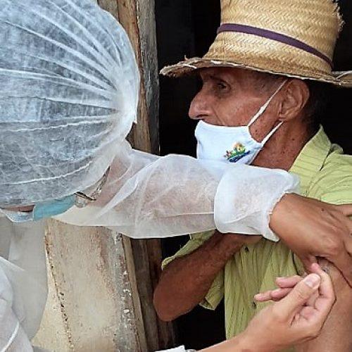 Saúde de Santana do Piauí inicia nova etapa de imunização em idosos com idade de 85 à 89 anos