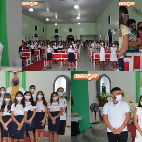 Missa com batizados e 1ª Eucaristia abre os festejos de São José em Belém do Piauí